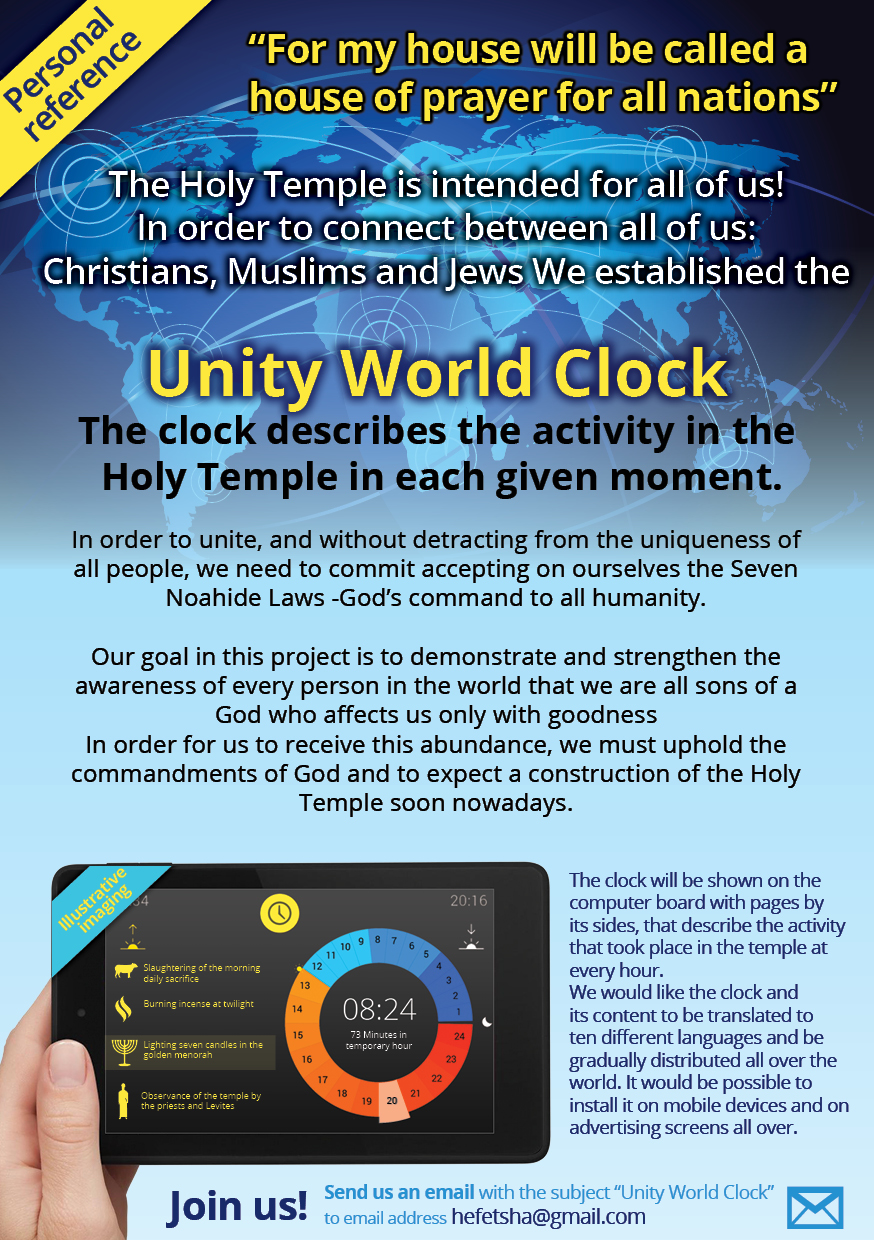 Unity World Clock